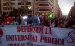 Los colegios de Buñol  claman en Valencia contra las reválidas de la Lomce